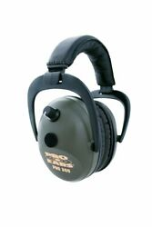 New Proears 300 Electronic Hearing Protection And Amplification Green Ear Muffs