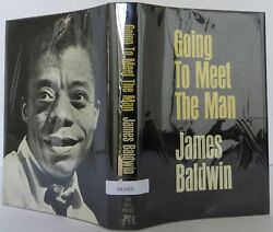 Baldwin James / Going To Meet The Man Signed 1st Edition 1965 2104028