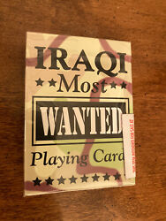 Unopened Original Iraqi Most Wanted Playing Cards - Hoyle - Made In Usa