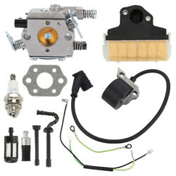 Carburetor Ignition Coil Air Filter For Stihl 021 023 025 Ms210 Ms230 Ms250