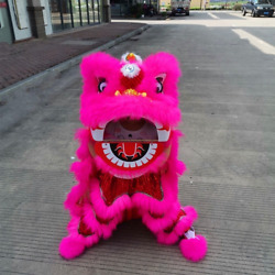 Chinese Lion Dance Mascot Costume Kid Outfit Dress New Year Spring Carnival