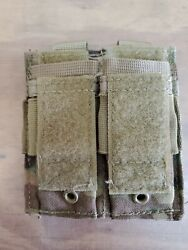 Lot Of 2 Multicam Ocp Scorpion Pouches Molle Pistol Magazine And Utility