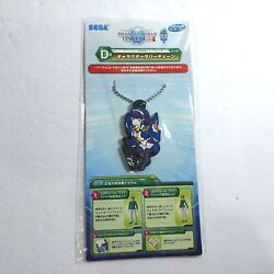 New Sealed Phantasy Star Online 2 Lottery 2 Risa Rubber Keychain Figure