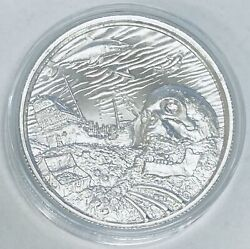Privateer Series 7 Elemetal Dave Jones Locker Ultra High Relief Silver 2 Oz
