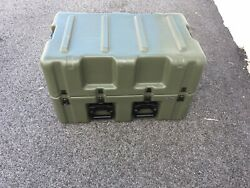 Hardigg 33x21x20 Wheeled Medical Supply Chest 6 Pressure Release Hard Case Army
