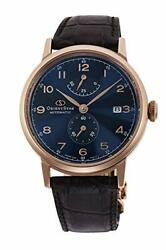 [epson] Watch Orient Star Classic Heritage Gothic Limited Model Movingblue Rk-aw