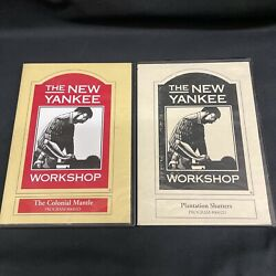 The New Yankee Workshop Plantation Shutters And Colonial Mantle Dvd Lot