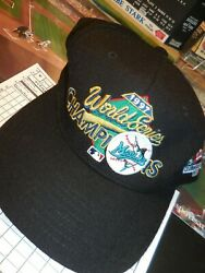 Official Mlb Clubhouse Cap 1997 World Series Champions Marlins Snap-back New Era