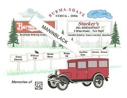 Burma Shave - Memories Of The Open Road - Circa 1934 - Plus Stuckey's Sign-