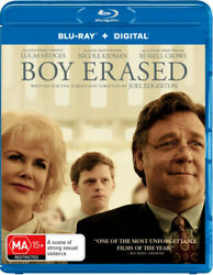 Boy Erased Blu-ray | Nicole Kidman Russell Crowe | Region A B And C