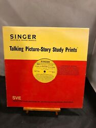 Vintage 1961 Singer Education And Training Record Vinyl - A Childs World Of Poetry