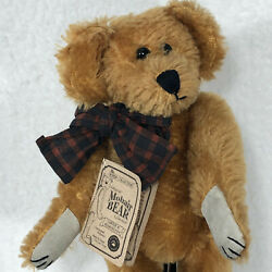 Boyds Original Mohair Teddy Bear Vintage 90s Fully Jointed G M Lowenthal 10