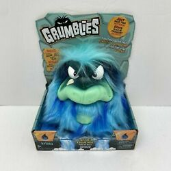 Pomsies Grumblies Hydro Plush Interactive Surfer Toy Blue Kids Play Game Fun New