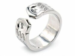 Authentic C2 Ring Happy Birthday Size 51 K18wg Christmas Limited Edition