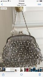 Beautiful Silver Evening Bag new $23.30