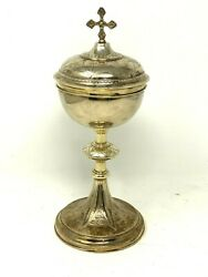 Pyx And Solid Silver And Vermeil And Minerve 1er Prize And Art Sacred And Liturgy
