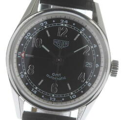 Auth Tag Heuer Watch Classic Gmt Ws2113 Automatic Case 35mm Antique F/s