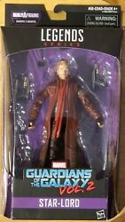 Marvel Legends Guardians Of The Galaxy Vol. 2 Star Lord / No Manits Baf