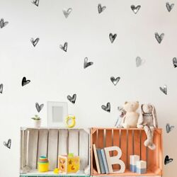 24pcs Wall Sticker Water Color Painted Kid Room Nursery Decals Poster Decoration