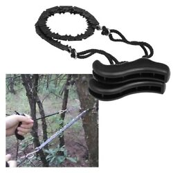 Pocket Foldable Chainsaw Hand Tools Camping Emergency Survival Hiking Gear