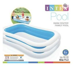 Intex Swim Center Family Inflatable Pool 103inch X 69inch X 22inch New