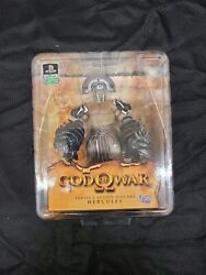 God Of War Sony Video Game Series 1 - Hercules Figure - 2010 Dc Unlimited