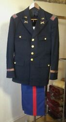 Us Wwii Army Artillery Colonel Uniform, Shoulder Straps, Trousers, Exc Quality