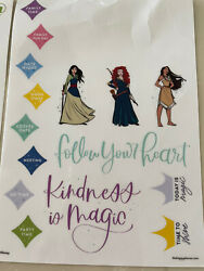 Disney Princess Removable Decals The Happy Planner