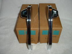 Pair Of 1973 - 1991 Chevrolet Gmc Nos Gm Square Truck Rh Lh Outside Door Handles