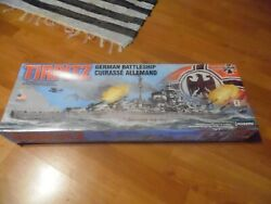 Lindberg 70827 1/350 Scale German Battleship Tirpitz Factory Sealed