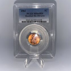 1984 Ddo Lincoln Cent - Pcgs Ms66rd - Top 100 Modern Coins