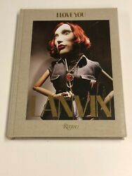 Lanvin I Love You By Hand Signed Alber Elbaz Rare
