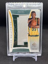 2007 Kevin Durant Rookie Auto Patch Ud Sp Authentic Rc-kd 08/50 Rpa Nets - Read