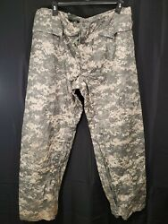 Orc Industries Improved Rainsuit Trousers Acu/ucp Large Ranger Sf Army Issue