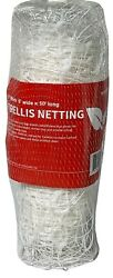 Trellis Netting 6and039x328and039 Plastic Plant Support Garden