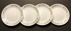 """Corelle Tree Bird 8.5"""" Luncheon/salad Plates - Set Of 4 - Discontinued - Nwt"""