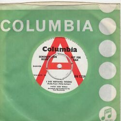 Patsy Ann Noble I Did Nothing Wrong Columbia Demo Db7258 Soul Northern Motown