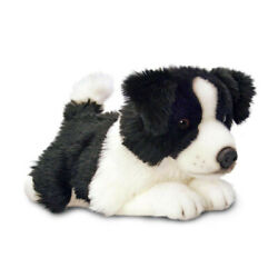 Keel Toys Border Collie Lil Pups Soft Animal Plush Toy 35cm Free Delivery