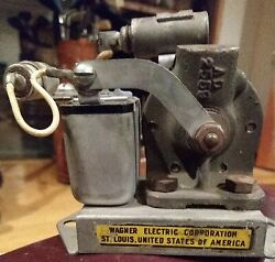 Antique Wagner Electric 12 Volt Fuel Water Oil Pump 5×3 Car 1920s 1930s Ford