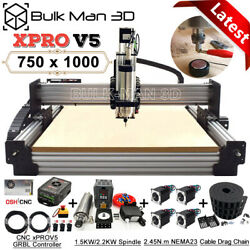 Xpro V5 Grbl Control 7510 Work-bee Cnc Wood Router Machine Milling Engraver Kit