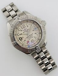 Breitling Superocean Steelfish 42mm Automatic Men's Steel Silver Dial A17360