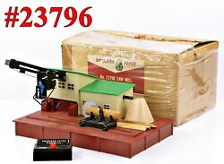 American Flyer Pw 23796 Operating Sawmill Complete W/box 1957-65