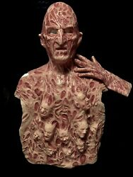 Freddy Inferno Part 4 2.0 Silicone Krueger Mask Chest Of Souls And Hand By Wfx