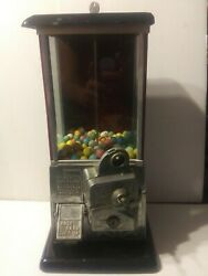 Vintage Rare Antique Penny Only Master Gumball Machine