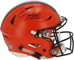 Odell Beckham Jr Cleveland Browns Signed Authentic Helmet - Full Name Signature