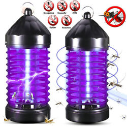 2pack Electric Uv Mosquito Killer Lamp Outdoor/indoor Fly Bug Insect Zapper Trap