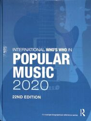 International Whoand039s Who In Popular Music 2020 9780367440060 | Brand New