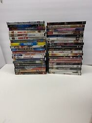 Lot Of 40 Dvd Assorted Mix A List Movies - Comedy Teen Drama - No Kid Cartoons