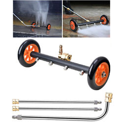 2-in-1 Pressure Power Washer Undercarriage Under Car Cleaner Water Broom 4000psi