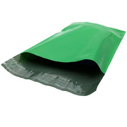 10 X 13 Green Poly Mailers Shipping Envelopes2 Mil 1000/cs 40 Cases